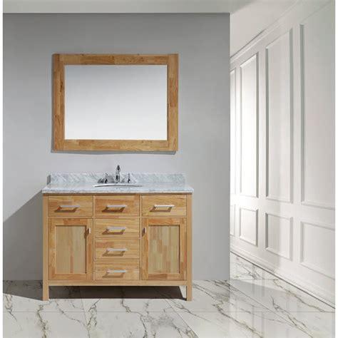 design element bathroom vanities design element london 48 quot vanity with white carrera