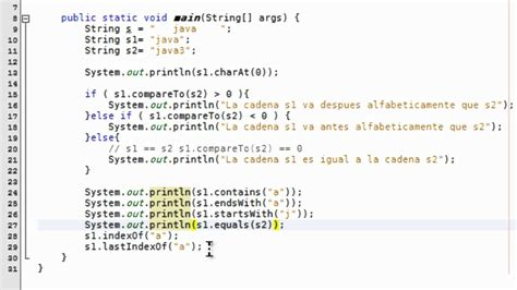 java pattern exclude string tutorial 14 java m 233 todos clase string youtube