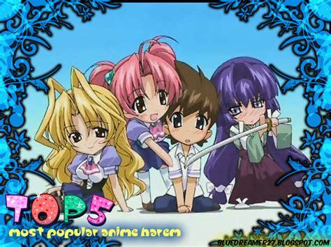 anime harem top five top five most popular harem anime