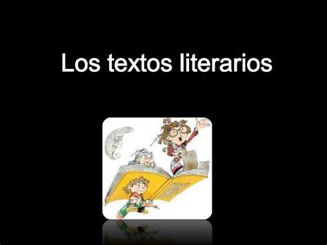 textos literarios cortos power point textos literarios
