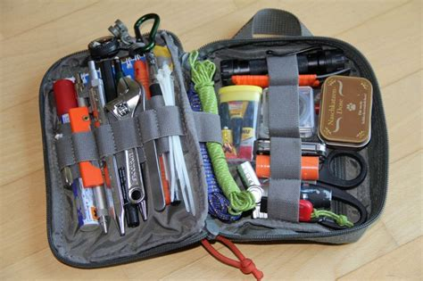 edc backpack list every day carry a small collection of tools equipment and supplies that are carried on a daily