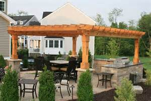 Cedar Post Pergola by Cedar Outdoor Furniture Everything For Outdoor Living In