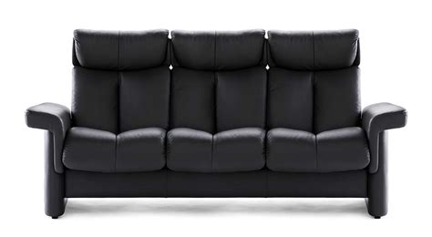 stressless couches circle furniture legend stressless highback sofa