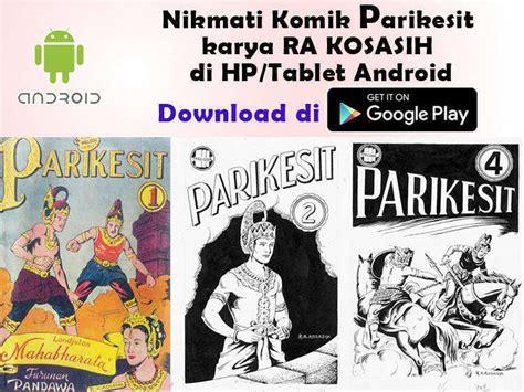 Komik Wayang Bomantara D Karya Ra Kosasih komik wayang parikesit karya ra kosasih kini tersedia di