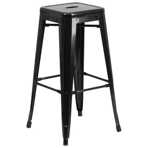 Restaurant Metal Bar Stools by Callie Backless Metal Bar Stool Restaurant Furniture