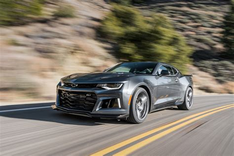 camaro l1 2017 camaro zl1 tested on the road track and