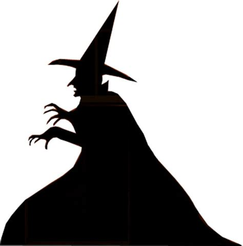 witch silhouette template make witch and grim reaper silhouettes