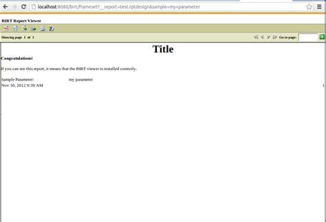 ci migration tutorial installing birt viewer server and birt report designer