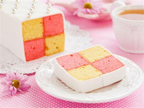 das kuchen kuchen mit karomuster battenberg kuchen rezept f 252 r sie