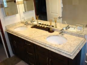 Precut Granite Vanity Tops 30 Interesting Ideas And Pictures Of Granite Bathroom Wall