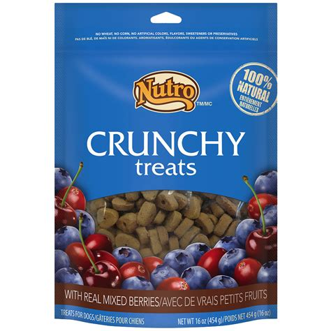 nutro treats nutro crunchy treats berries 16 oz