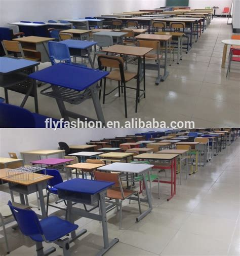 study table for college students school students cheap children used table and chair for