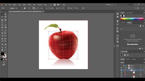 tutorial youtube illustrator adobe illustrator tutorial using the mesh tool creating