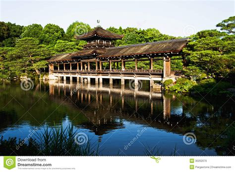 Japanese House Plans amazing old japanese heian palace bridge in kyoto stock