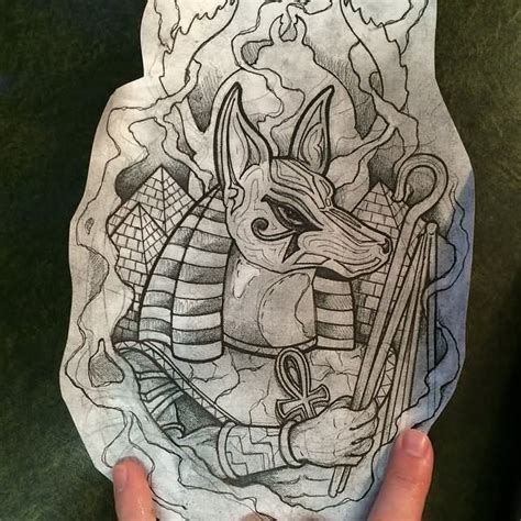 egyptian gods tattoo designs 20 best anubis designs