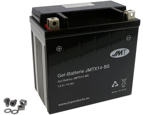 Motorrad Batterie Jmt by Batteria Ytx14 Bs Jmt