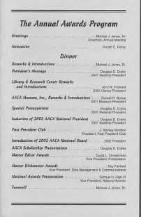 awards ceremony program template award ceremony program images