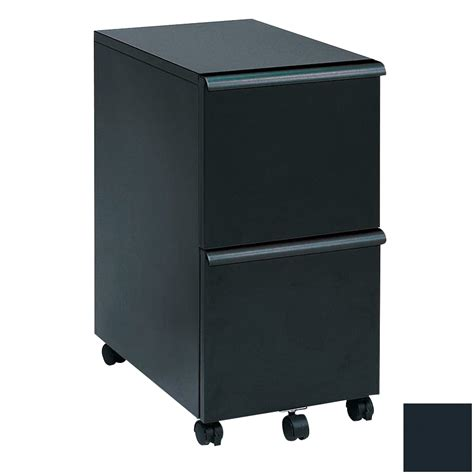 2 Drawer Black Filing Cabinet by Shop New Spec Black 2 Drawer File Cabinet At Lowes
