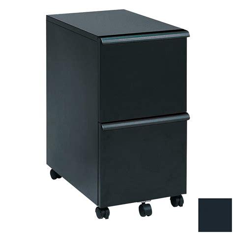 Shop New Spec Black 2 Drawer File Cabinet at Lowes.com