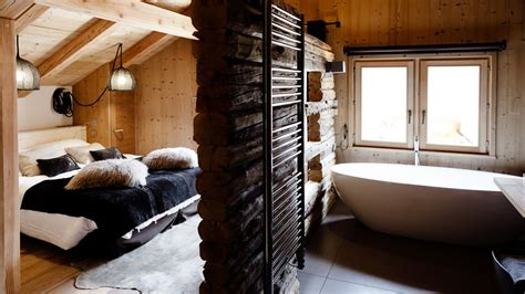 chambre chalet d 233 co chambre style chalet