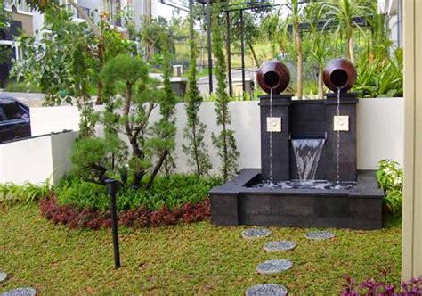 desain air mancur depan rumah 50 taman rumah minimalis gaya jepang dan kolam air mancur