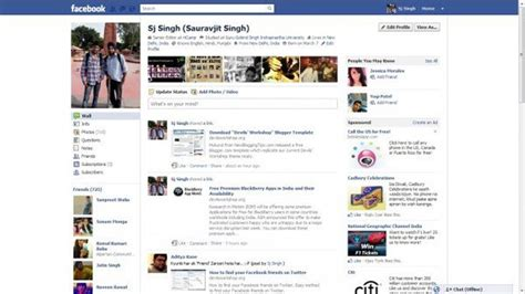 yahoo layout change 11 years of facebook what s changed over the yahoo