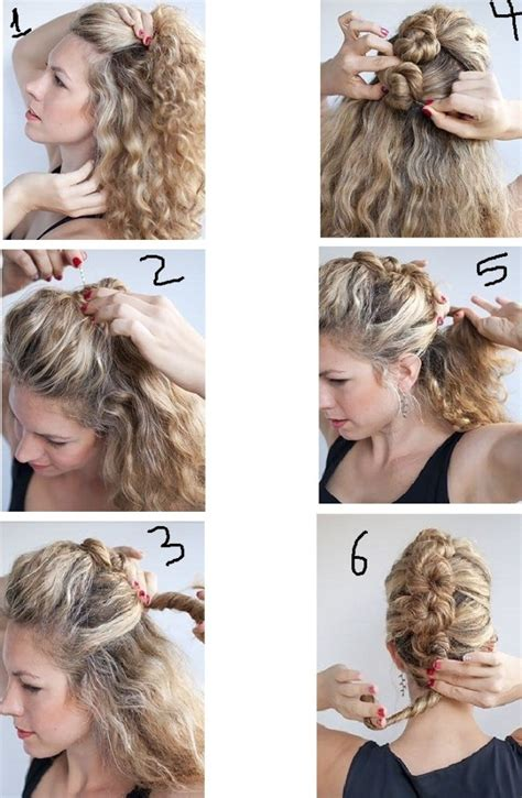hairstyles to do at home step by step perfect party hairstyles for long hair easy to do at home