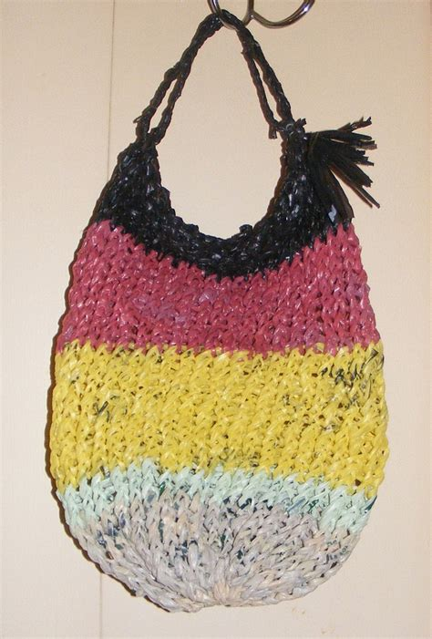 how to knit plastic bags 1000 images about knifty knitter loom projects on
