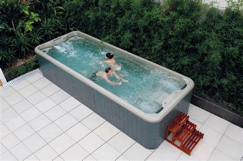 above ground bathtub 6 meter hot tub above ground pool swim spa view balboa