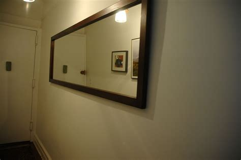 Industrial Chic Home Decor by Handmade Long Hallway Mirror By Wooden It Be Nice