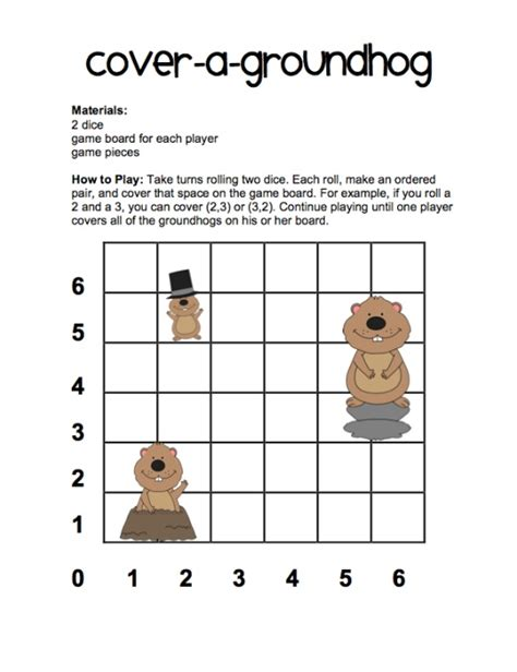 Groundhog Day Worksheets Free by Groundhog Day Activities Worksheets Groundhog Day Color
