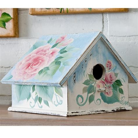 1000 ideas about shabby chic birdhouse on pinterest