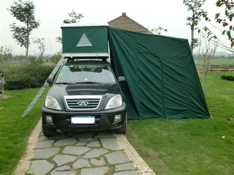 tent awnings for cars china car cing top tent with awning photos pictures