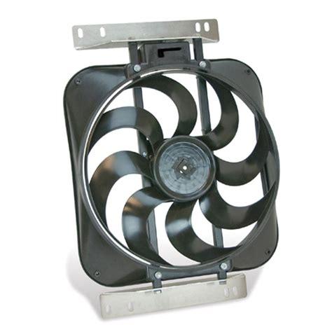 flex a lite electric fan flex a lite direct fit black magic s blade electric fan