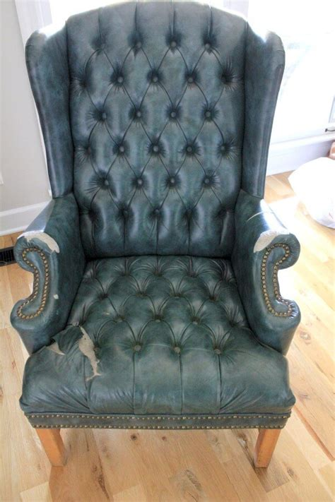 No Sew Reupholster by No Sew Reupholstery A Wingback Chair Hometalk