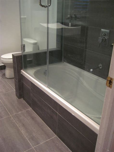 white wall compact bathroom modern designs with black tile