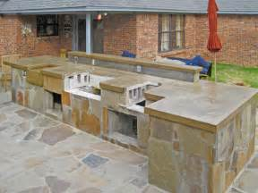 Outdoor Kitchen Countertops Best Countertop For Outdoor Kitchen Voqalmedia