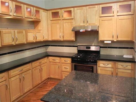 how to finish the top of kitchen cabinets 17 best ideas about birch cabinets on pinterest maple