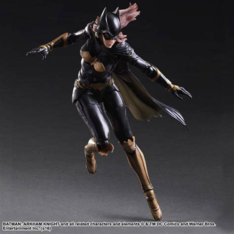 Ngpa68 Play Arts Batgirl Arkham Batman Dc Comics looking the different batgirl figures headed