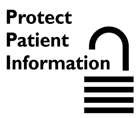 protected health information clipart