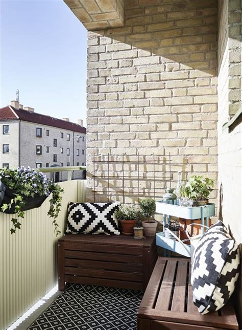 Apartment Balcony Furniture Ideas 15 Small Balcony Apartment With Charming Looks House