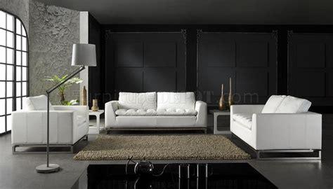 leather ultra modern 3 piece living room set paris black top grain leather 3 piece modern living room set manhattan red