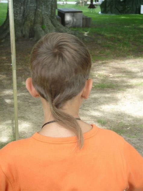 boys rat tail hairstyle the rat tail 7 worst hair trends of all time hair