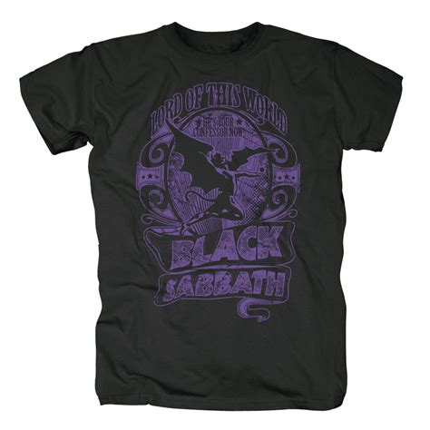 T Shirt Lord Worlds bravado lord of this world black sabbath t shirt