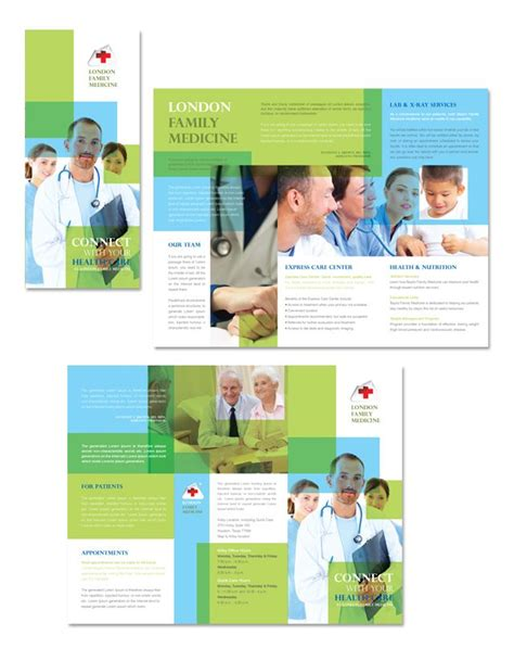 leaflet design brief template family medicine clinic tri fold brochure template http