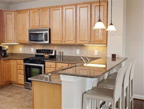Granite Kitchen Cabinets Maple Cabinets And Grey Granite Countertops Kitchens Grey Granite Countertops