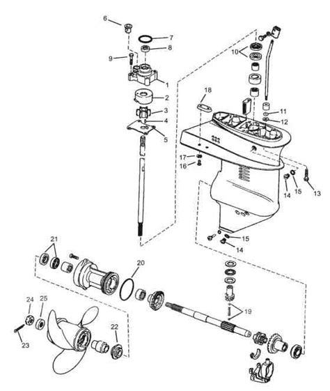 diagram w johnson 9 9 15 hp 1974 thru 2006 2 outboard