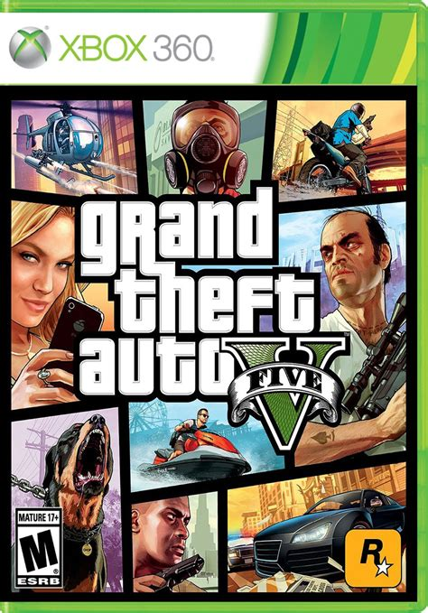 Grand Theft Auto 5 Xbox 360 by Grand Theft Auto V Para 360 Gameplanet