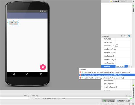 android studio button change layout how to start android app development for beginners