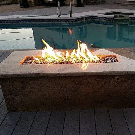 pit trough d i y 26 quot propane trough wall table burner